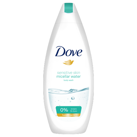 Dove Sensitive Skin Micellar Water douchegel 250ml