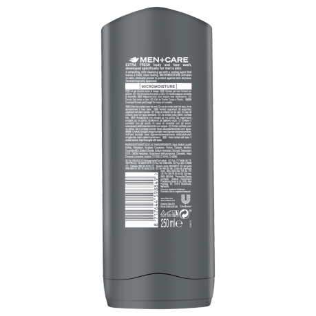 PNG - Dove_Shower Men Extra Fresh_BOP_250ML RRP 6X_8717644598849_NL
