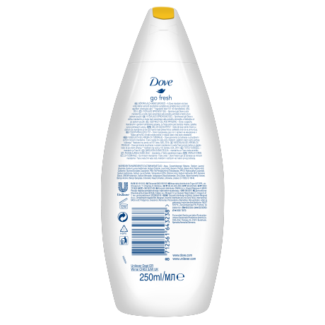 PNG - Dove Shower Revital 250ML 6x 8712561643238 NL