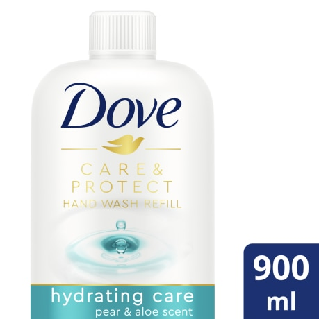 PNG - Dove Pear & Aloe Hand Wash 900mL