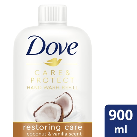 PNG - Dove Coconut Hand Wash 900mL