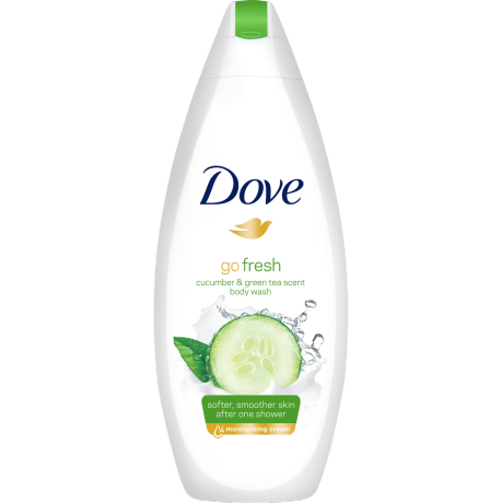 Dove go fresh Cucumber dusjsåpe 250ml