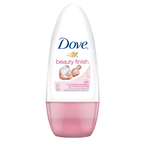 Dove Desodorante Roll On Beauty Finish 50ml