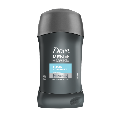 Dove Antitranspirante en barra Men+Care Clean Comfort 50g