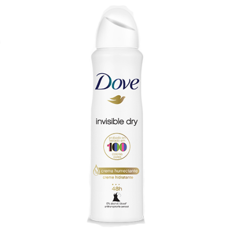 Dove Antitranspirante en Aerosol Invisible Dry 89g