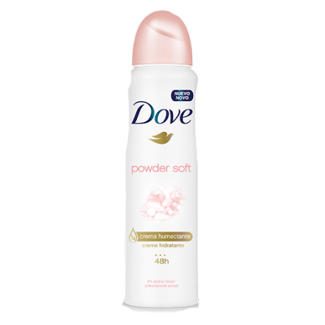 Dove Antitranspirante en Aerosol Powder Soft 89g