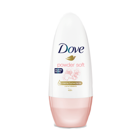 Dove Antitranspirante Roll On Powder Soft 50ml