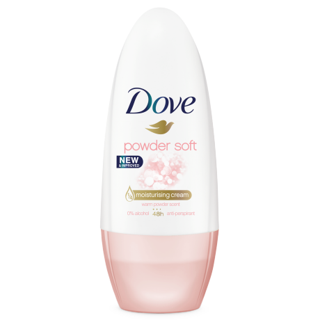 Dove Soft Feel Roll-on Antiperspirant 40ml