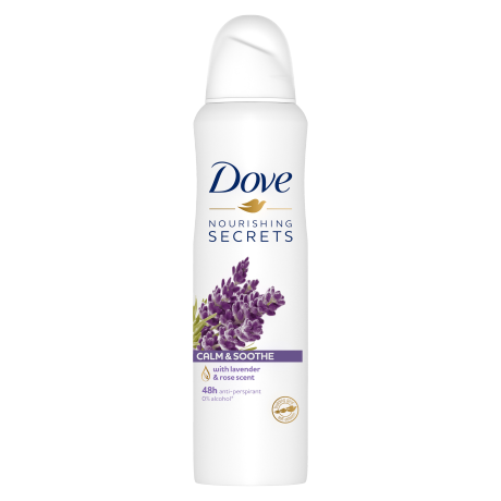 Dove Calm & Soothe Antiperspirant Aerosol 150ml