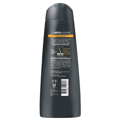 DOVE MEN SHAMPOO_STRENGTHENING_BACK_340ML