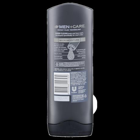 DOVE MEN_BODY WASH_DEEP CLEAN_BACK_400ML