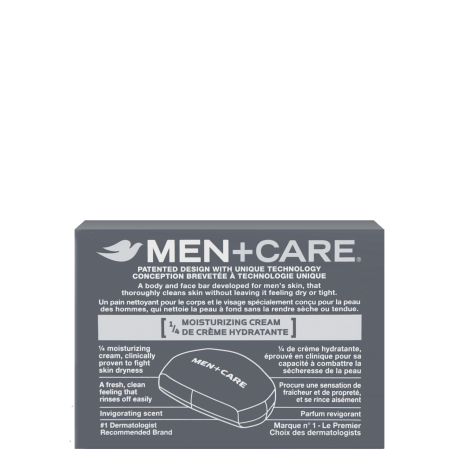 DOVE MEN_BAR SOAP_EXTRA FRESH_BACK_113G
