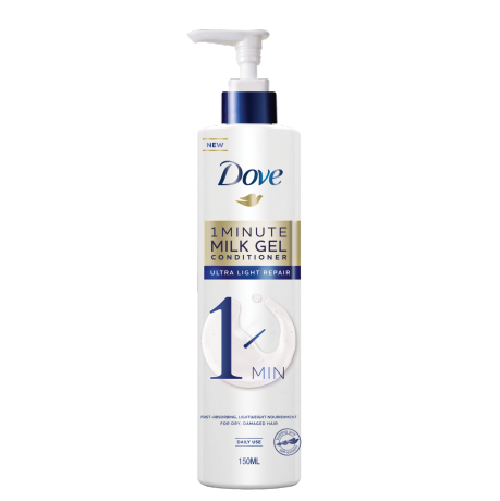 Dove Ultra Light Repair 1 Minute Milk Gel Conditioner 150 ml