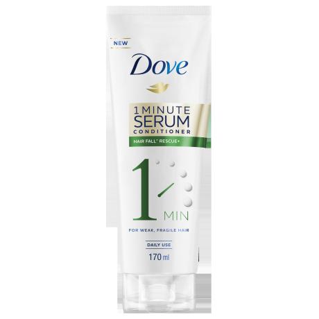Dove Hair Fall Rescue+ 1 Minute Serum Conditioner 170ml
