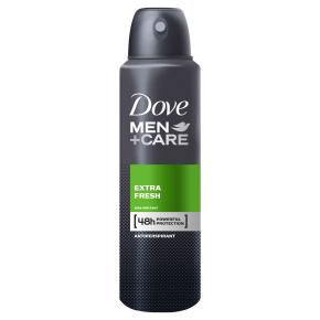 Dove Men+Care Extra Fresh Antiperspirant Deodorant Spray 150ml