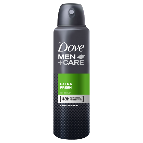 Dove Men+Care Extra Fresh Antiperspirant Deodorant Spray 150ml