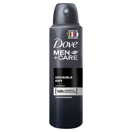 Dove Men+Care Invisible Dry Antiperspirant Deodorant Spray 150ml