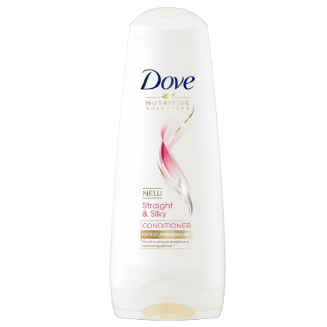 Dove Straight & Silky Conditioner 180ml