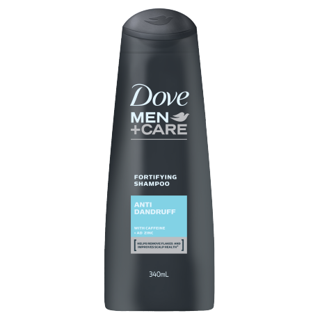 Dove Men+Care Anti Dandruff Fortifying Shampoo 340ml