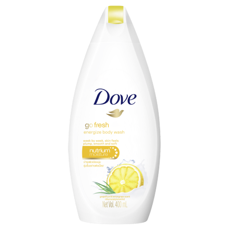 Dove Go Fresh Energize Body Wash 400ml