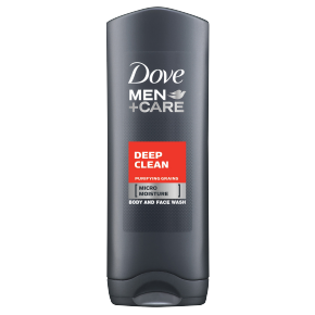 Dove Men+Care Deep Clean Body Wash 400ml