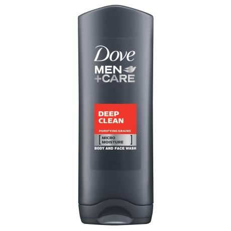 Dove Men+Care Deep Clean Body Wash 400ml