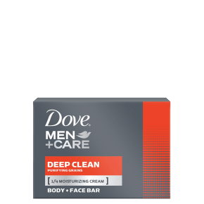 Dove Men+Care Deep Clean Body & Face Bar 113g