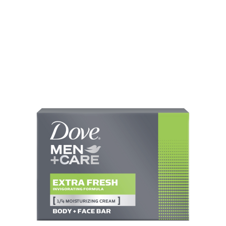 Dove Men+Care Extra Fresh Body & Face Bar 113g