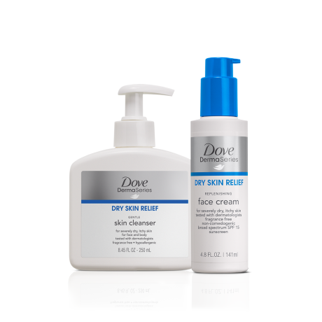Dove DermaSeries Face Care