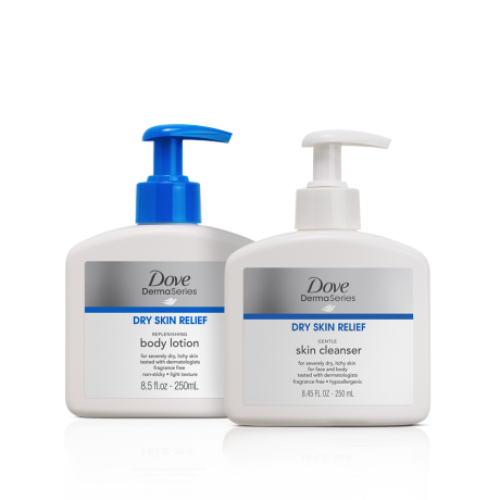 Dove DermaSeries Collection