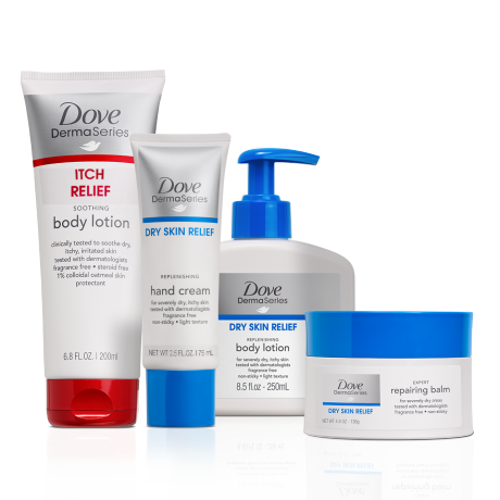Dove DermaSeries Body Care