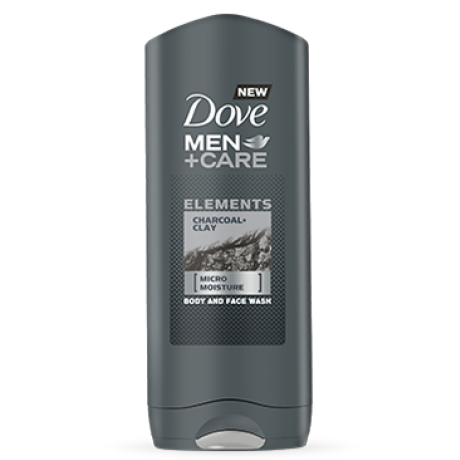 Dove Men+Care Αφρόλουτρο Charcoal & Clay 400ml