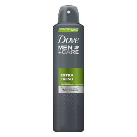 Dove Men+Care Antyperspirant w aerozolu Extra Fresh 250ml