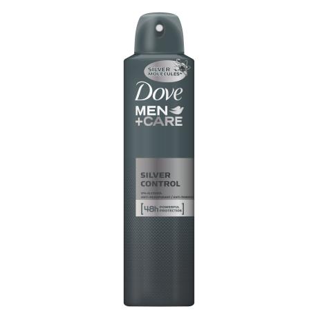 Dove Men+Care antyperspirant w aerozolu Silver Control 250ml