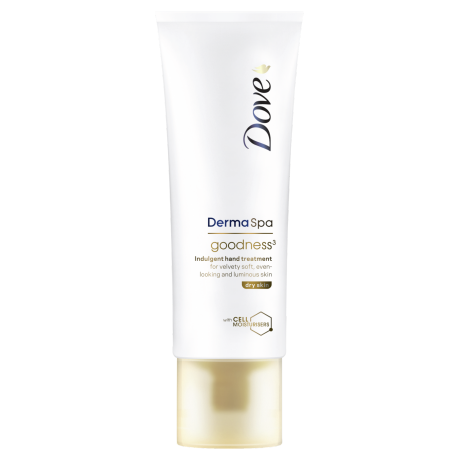 Dove Krem do rąk DermaSpa do skóry suchej Goodness³ 75ml
