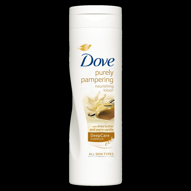 Dove Loção De Corpo Purely Pampering Shea Butter & Warm