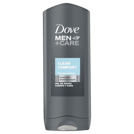 Dove Men+Care Gel de Duche Clean Comfort 400ml