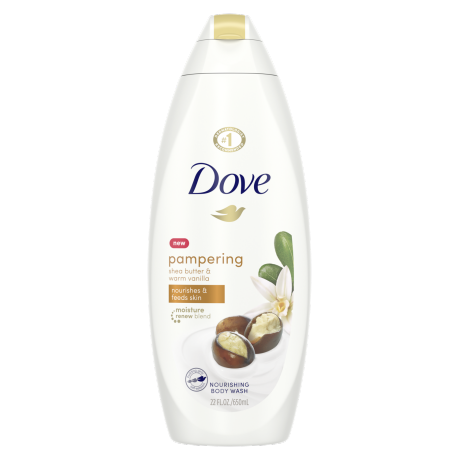 Dove Purely Pampering Shea Butter and Vanilla Body Wash 22 oz