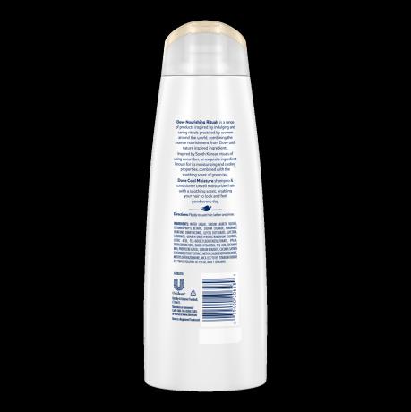 Dove Nourishing Rituals Cool Moisture Shampoo 12oz