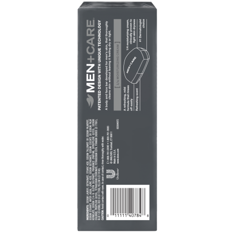 PNG - Dove Men+Care Body and Face Bar Clean Comfort 4 oz, 6 Bar