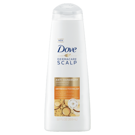 Dove Dryness & Itch Relief Anti-Dandruff Shampoo 12oz