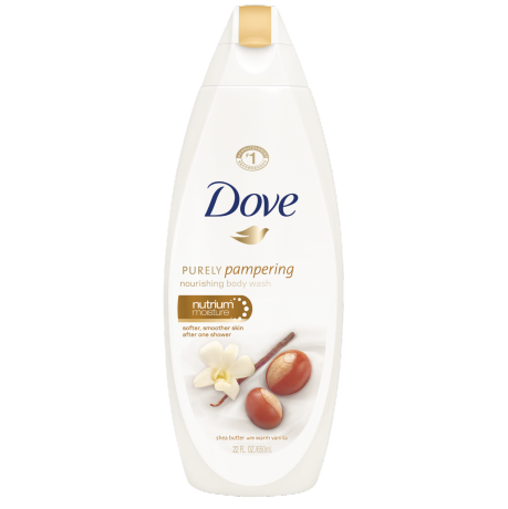Dove Purely Pampering Shea Butter with Warm Vanilla Body Wash 22oz