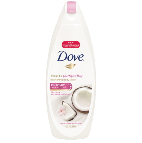 Dove Purely Pampering Coconut and Jasmine Body Wash 22oz