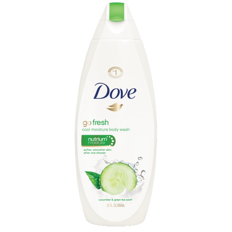 Dove Go Fresh Cool Moisture Body Wash 22oz