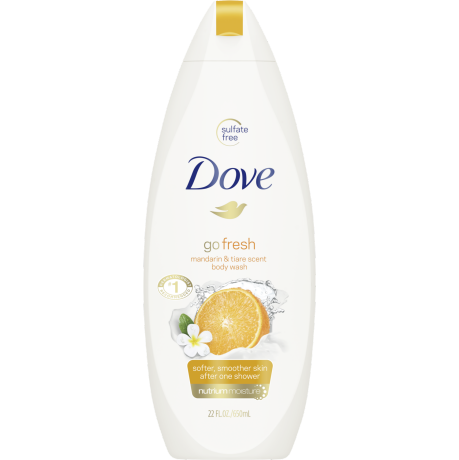 Dove Go Fresh Revitalize Body Wash 22 oz