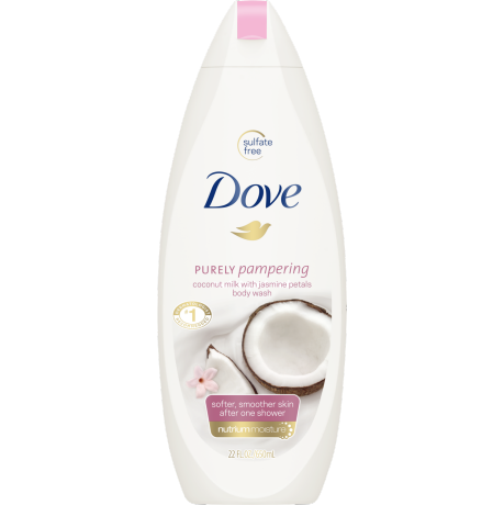 Dove Purely Pampering Coconut with Jasmine Body Wash 22 oz