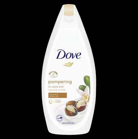 Dove Gel de duş Pampering Shea Butter & Vanilla 500ml