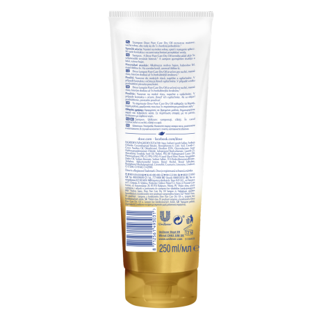 PNG - Dove Advanced Hair Series Pure Care Dry Oil shampoo for dry & dull hai