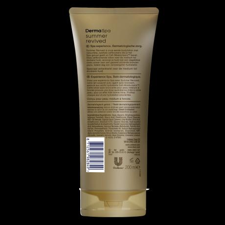 PNG - Dove Derma Spa Summer revived tónovacie telové mlieko dark 200ml