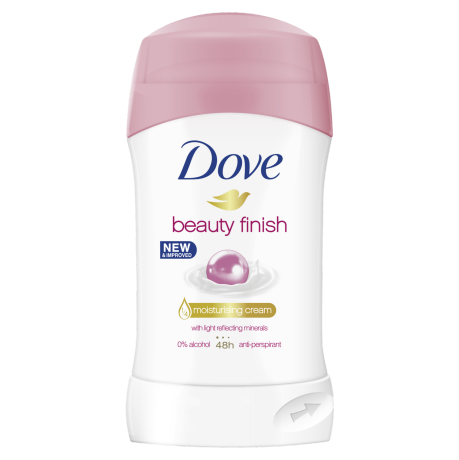 Dove Antiperspirant stick Beauty Finish 40ml